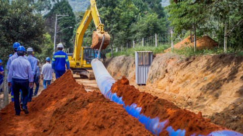 Construída em tempo recorde, obra do rio Guaió ampliou a segurança hídrica do Sistema Alto Tietê