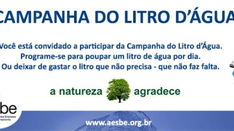 Campanha Litro D'Água