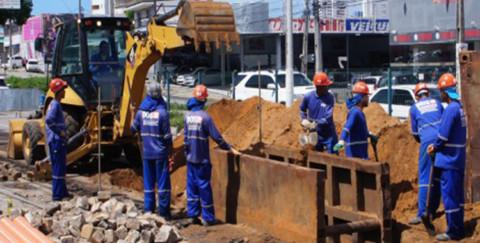 Seis bairros de Natal (RN) estarão 100% saneados até o final de 2017