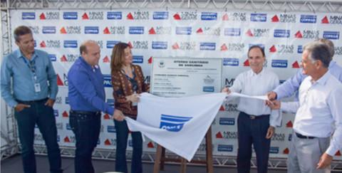 Inaugurado em Varginha (MG) o primeiro aterro sanitário operado pela Copasa