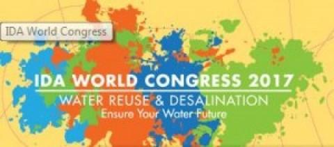IDA 2017 Congresso Mundial de Reuso de Água e Dessalinização