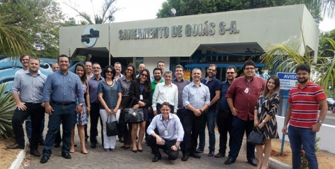 Saneago se reúne com representantes das empresas de saneamento para discutir logística
