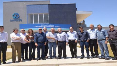 ETA Mauro Borges recebe visita e é inaugurada hoje