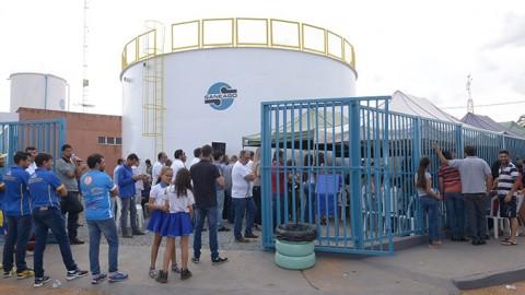 Saneago inaugura reservatório em Goianápolis (GO)