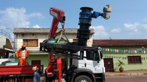 Chegam a Marabá (PA) equipamentos para captação de água bruta