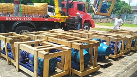 Caerr adquire equipamentos para melhorar abastecimento no interior de Roraima