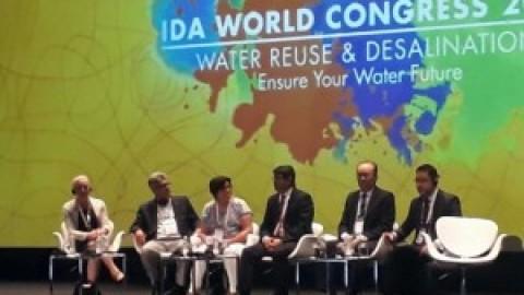 Paraíba é destaque em congresso mundial de dessalinização e reuso da água