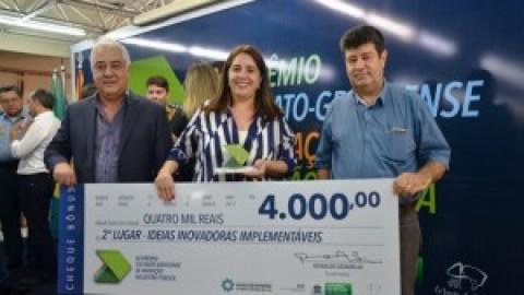 Funcionária da Sanesul é premiada no XII Prêmio Sul-Mato-Grossense de Inovação na Gestão Pública