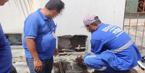 """Embasa descobre """"gato"""" de água em usina de beneficiamento de sisal em Conceição do Coité (BA)"""