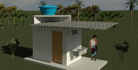 Cidades mais pobres do Maranhão receberão mil kits com banheiro e caixa d'água neste ano