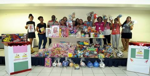 CAEMA mobiliza funcionários para arrecadação de brinquedos no mês das crianças