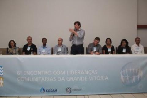 Lideranças têm retorno das demandas em Encontro com a Cesan