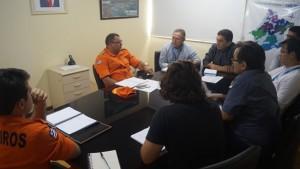 Caema e Corpo de Bombeiros alinham estratégias em reunião