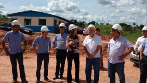 Obras da ETE Itapecerica, em Divinópolis (MG), estão em ritmo avançado