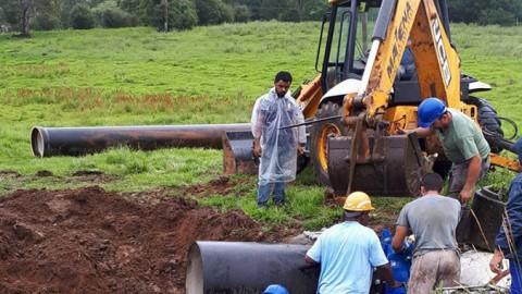 Corsan conclui as obras de ampliação de distribuição de água em Santa Maria (RS)
