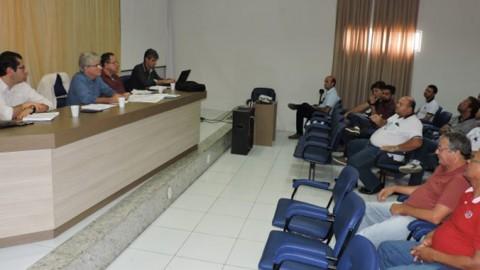 Gestores da Unidade de Negócio Agreste da Casal apresentam panorama do abastecimento na região