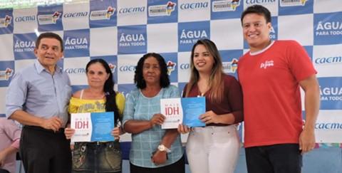 Com o Dia D Mais IDH, governo estadual entregou novo sistema de abastecimento para Água Doce do Maranhão (MA)