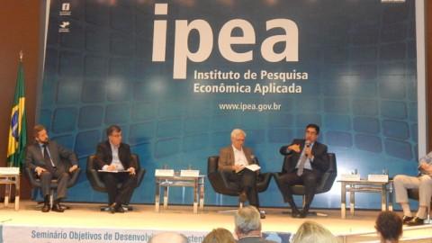 Aesbe participa de seminário no Ipea e fala sobre a proposta de revisão do Marco Regulatório do Saneamento