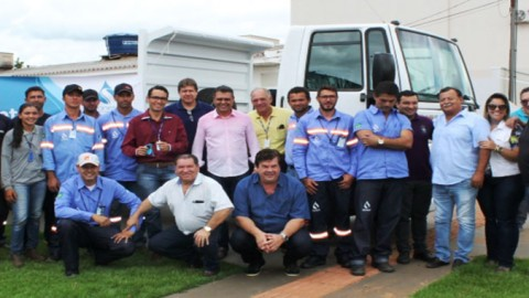 Regiões Leste e Norte de Mato Grosso do Sul são contemplados com caminhões da Sanesul