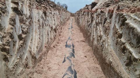 Obra do sistema de abastecimento avança para beneficiar moradores de Inhapi (AL)