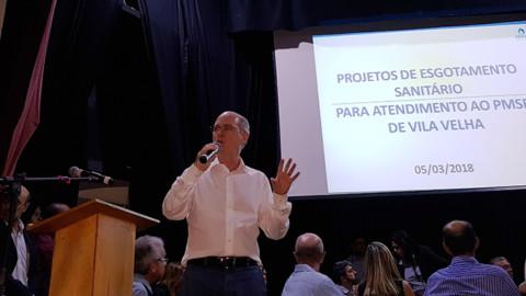 Cesan apresenta investimentos em Vila Velha (ES)