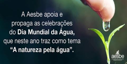 """Dia Mundial da Água: """"A natureza pela água"""""""