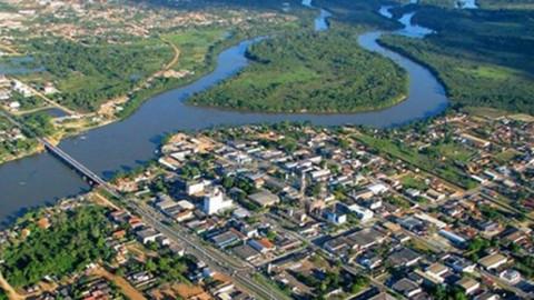 Obras de instalação de adutora de 500 mm são realizadas em Ji-Paraná, RO