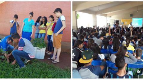 Saneago promove ações ambientais em Itaguaru (GO)
