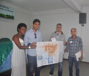 Embasa entrega mapas de nascentes a gestores de oito prefeituras da Região Metropolitana de Salvador