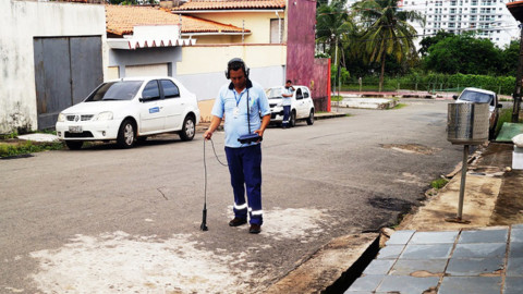 Para melhorar abastecimento, Caema inicia Operação Caça Vazamentos