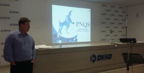 Deso promove palestra e cursos preparatórios para o PNQS