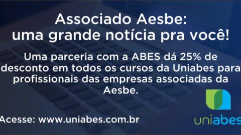 Associadas à Aesbe têm 25% de desconto nos cursos da UniAbes