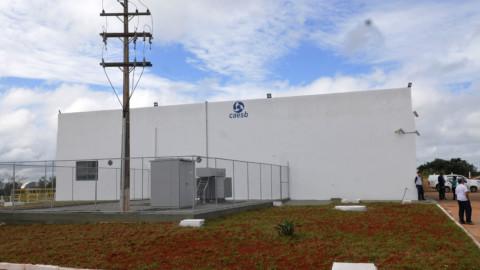 Elevatória da ETA Brasília é inaugurada nesta terça (10)