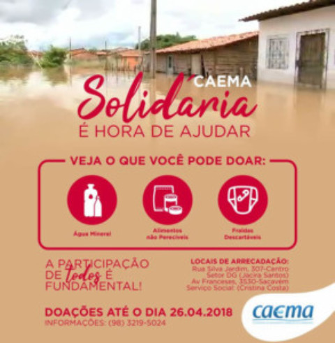 Campanha CAEMA Solidária
