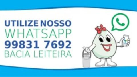 Casal disponibiliza número de Whatsapp para clientes de 19 cidades da Bacia Leiteira