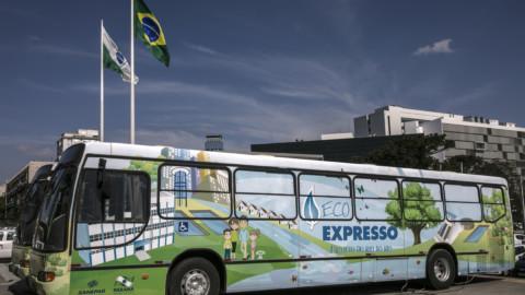 Sanepar leva EcoExpresso para Feira de Tecnologia de Cascavel