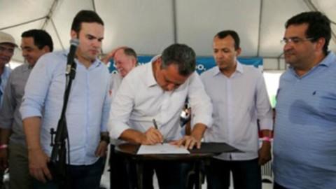 Governado da Bahia autoriza obra de abastecimento para Sítio do Rio Grande, em São Desidério (BA)