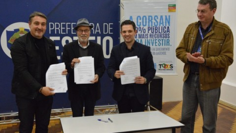 PPP do Saneamento avança no RS com ampliação da parceria entre Corsan e Prefeitura de Esteio