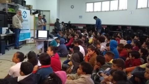 Saneago promove ações de educação ambiental em Anápolis (GO)