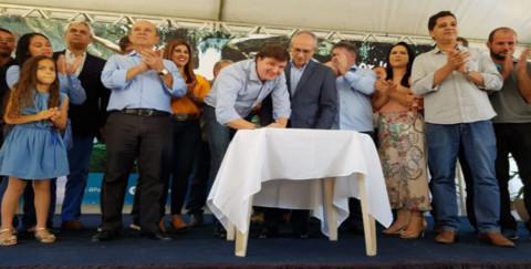 Água Doce do Norte (ES) recebe investimentos em esgotamento sanitário
