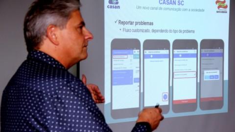 Aplicativo facilita a vida dos usuários da Casan, em Santa Catarina