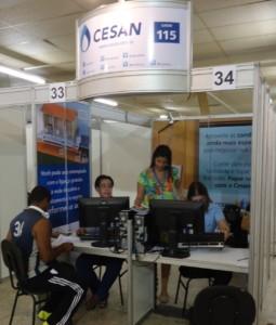 Cesan participa de mutirões para renegociação de débito