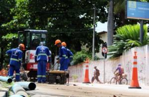 Compesa inicia obra de melhoria do abastecimento para bairros da Zona Norte do Recife (PE)