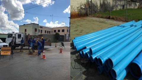 Copasa investe R$ 6 milhões na melhoria do abastecimento em Paracatu (MG)