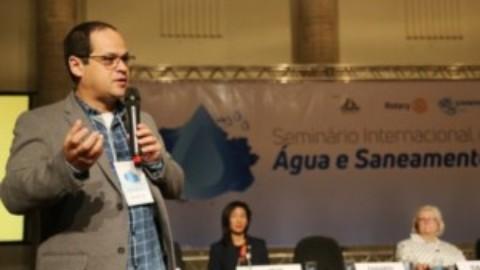 Sanepar participa de seminário sobre água e saneamento no Paraná