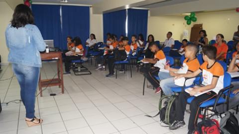 Caema realiza palestra sobre o uso consciente da água em São Luís (MA)
