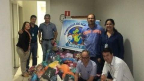 Várias famílias carentes são beneficiadas com Campanha do Agasalho em Dourados (MS)