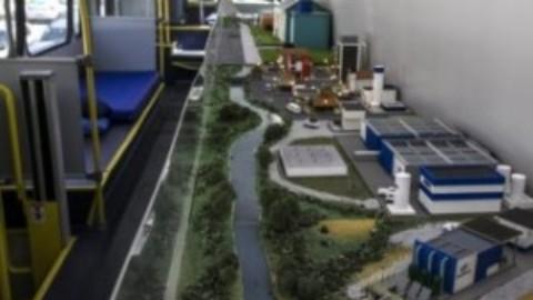 Ônibus de educação ambiental da Sanepar chega a Capanema (PR)