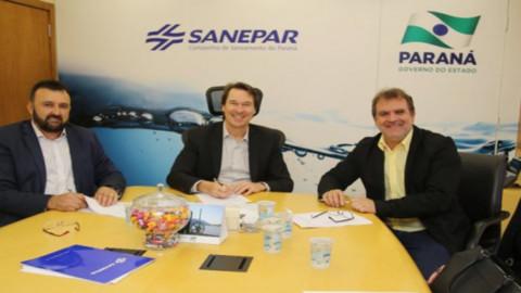Município de Barra do Jacaré (PR) assina contrato com Sanepar