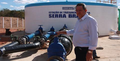Presidente da Agespisa vistoria nova ETA de São Raimundo Nonato (PI)
